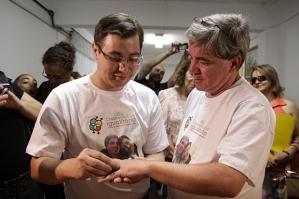 Primer matrimonio gay de Sao Paulo (www.inthecloset.cl).
