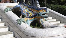 Parc_Güell_Dragon_Restored