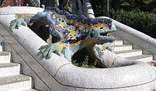 Parc_Güell_Dragon_Restored