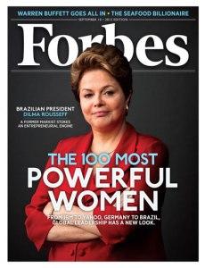Rousseff en los medios